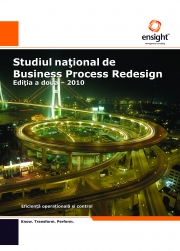 Studiul National de Business Process Redesign - 2010