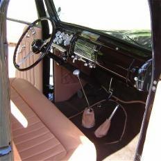 Interiorul era unul de limuzina