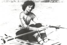 Canotoarea Valeria Racila in competitie (sursa foto: Wikipedia)