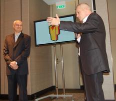 Dan Bulucea l-a avut printre invitati pe Sorin Oprescu, primaul general al Capitalei