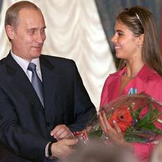 Presedintele Putin si gimnasta cu care presa crede ca ar fi avut o relatie